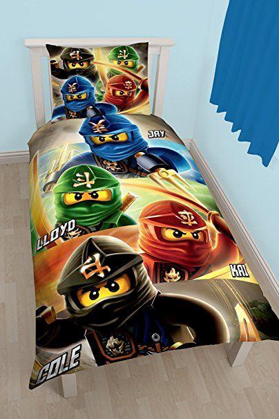Coole Bettwäschegarnitur Für Jeden Kleinen Ninja Fan Lego Ninjago