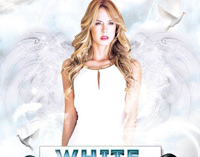 Check Out New Work White Party Free Flyer Psd Template White