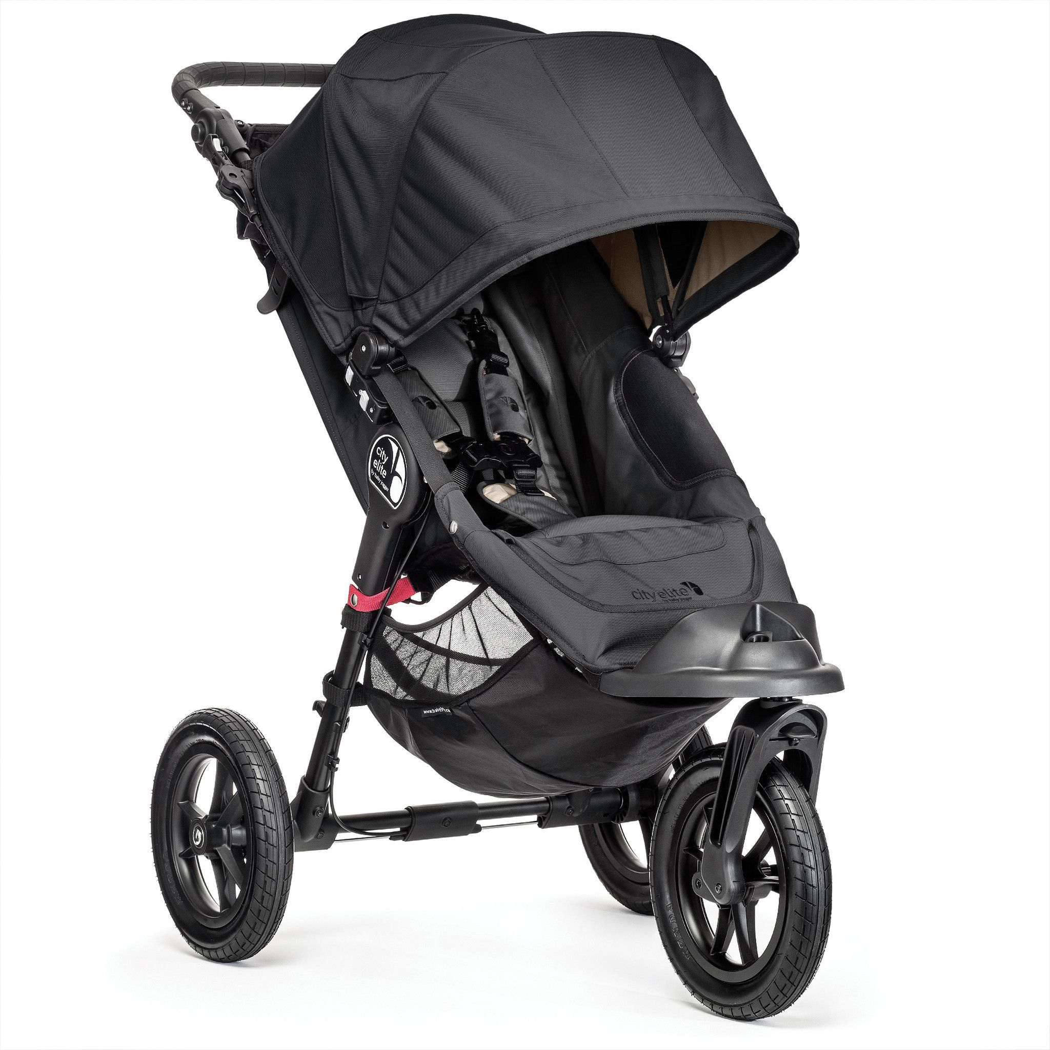 Baby Jogger City Elite provides luxury and fort over any terrain that offers and array of storage and more