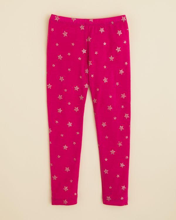 Design History Girls' Star Leggings - Sizes 4-6X