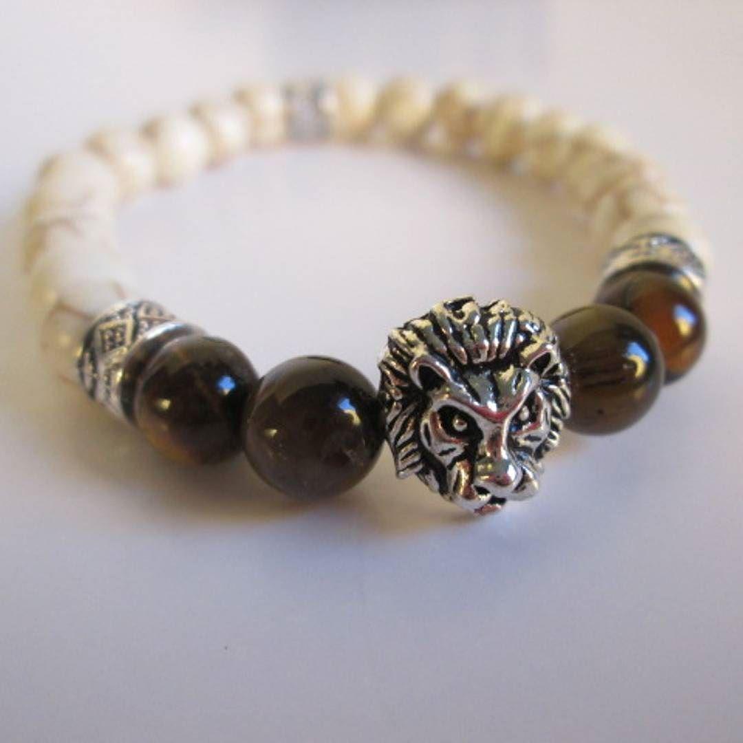 Beautiful lion bracelet spuzzosdeals beachstyle