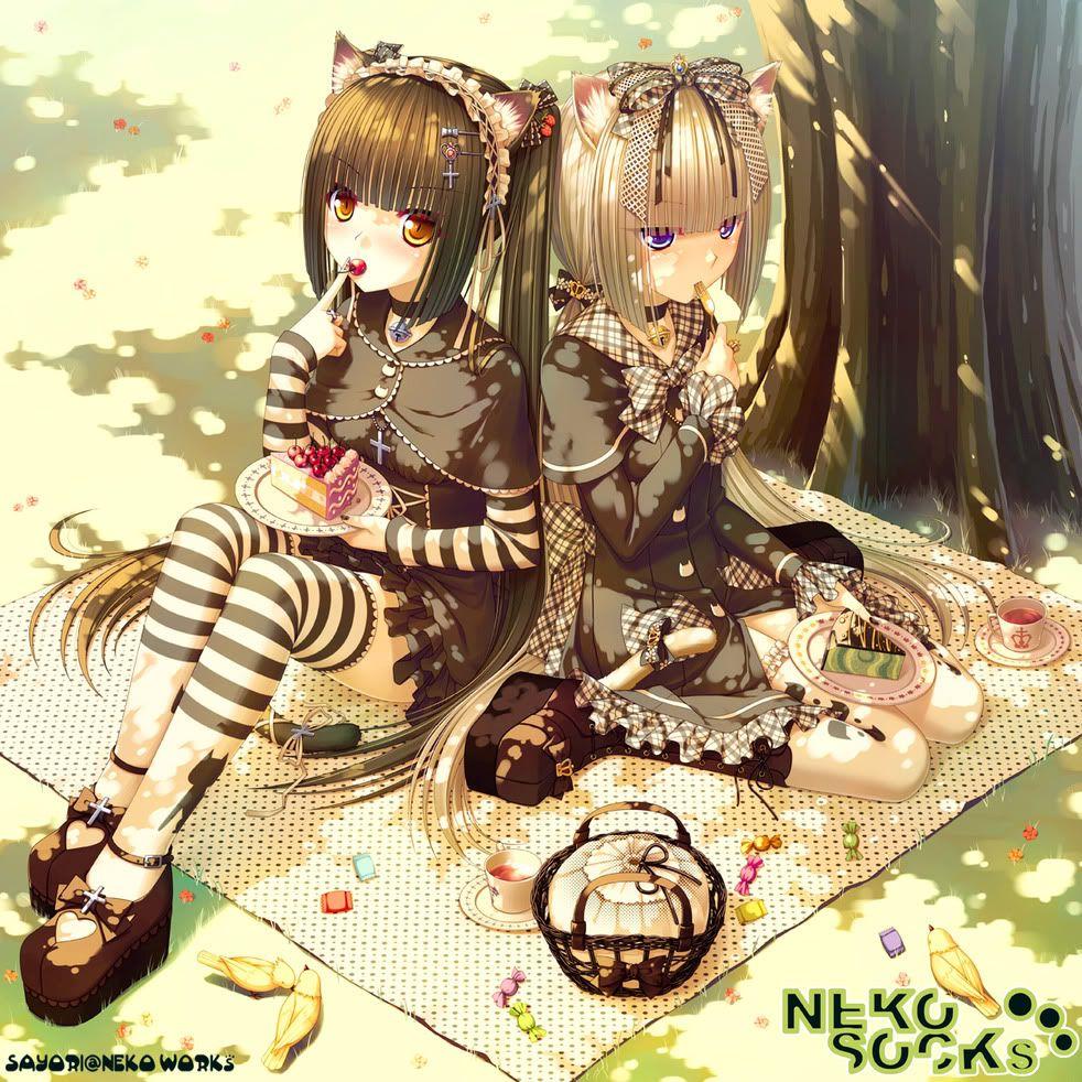 Resultado de imagen para neko work sayori | chocola & vanilla ...