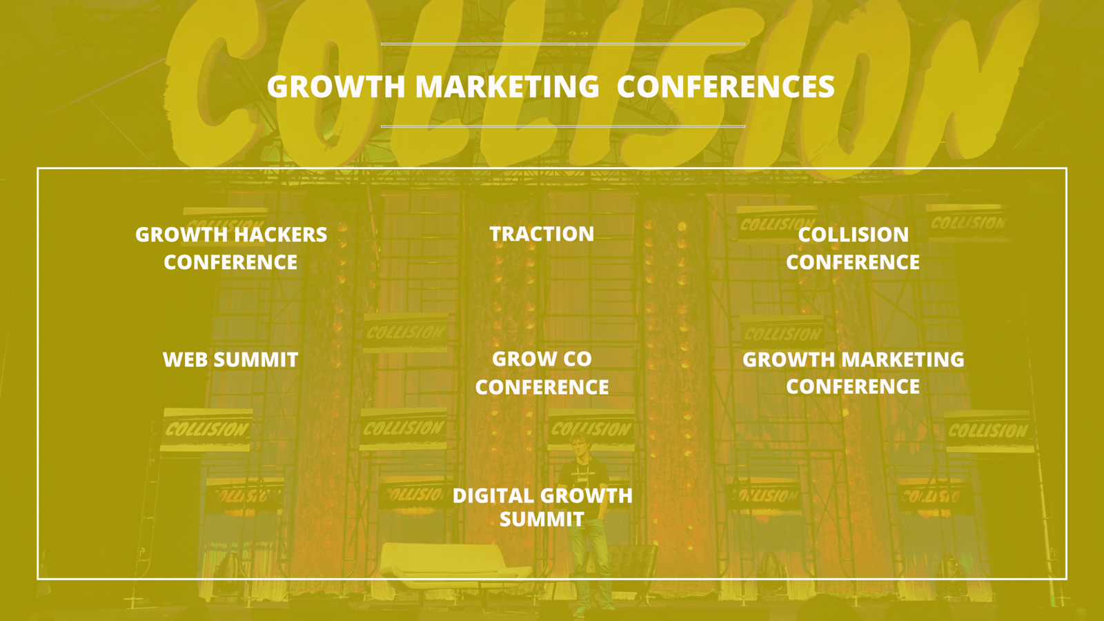 Top 7 Digital Marketing Conferences on Growth Marketing