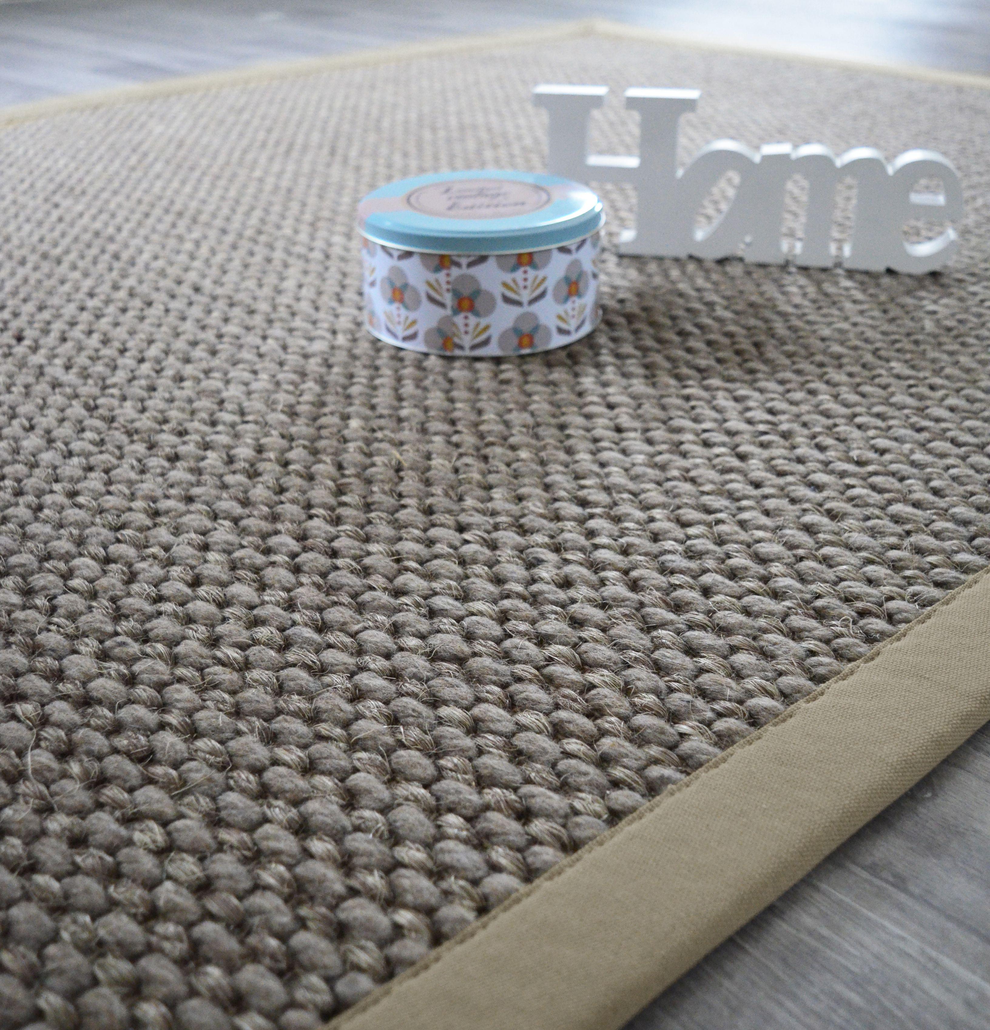 Un tapis 100 % naturel pour un intérieur cosy Un mélange de laine
