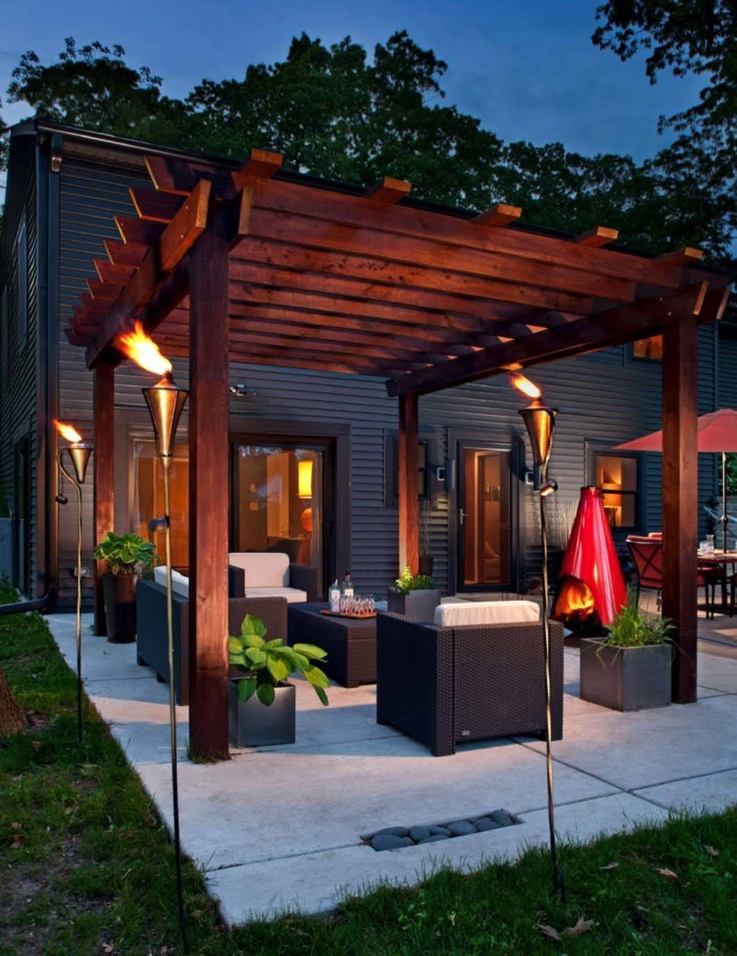 35 Modern Outdoor Patio Designs That Will Your Mind More