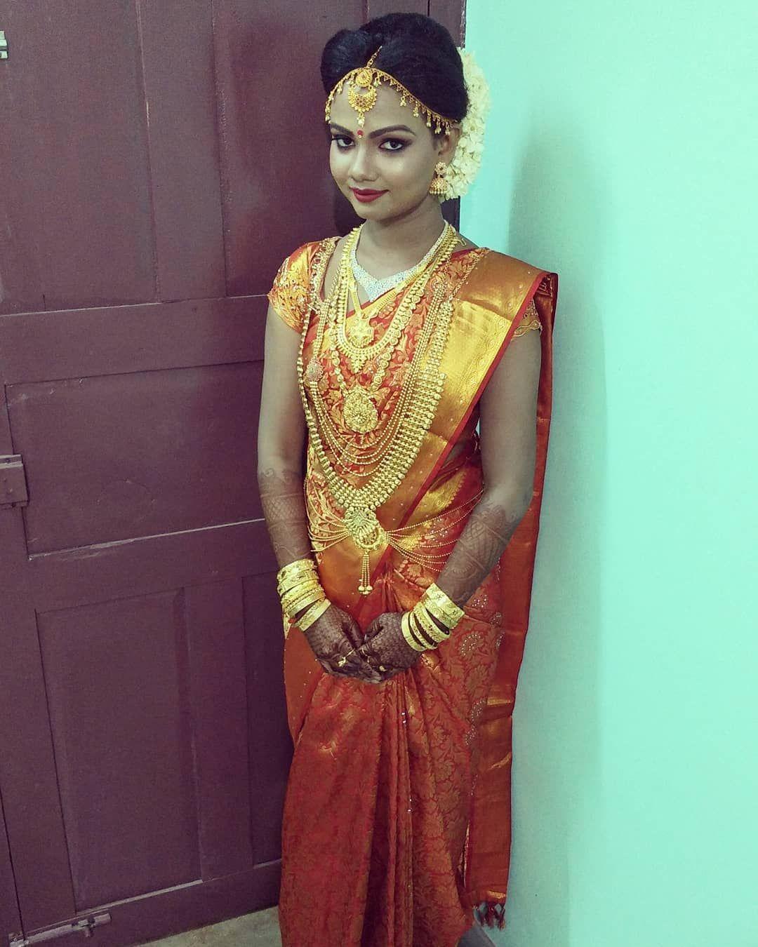 Hindu wedding makeup work in kerala tvm
