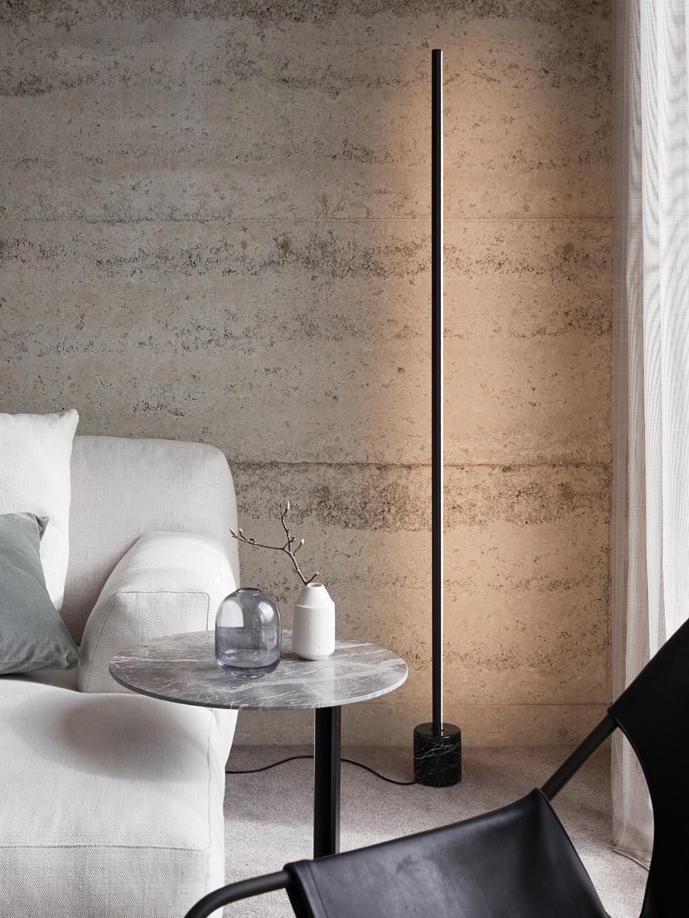 Ledlux Emmerson Led Dimmable Black Floor Lamp Met Afbeeldingen Moderne Staande Lampen Vloerlampen Woonkamer Woonkamerlampen