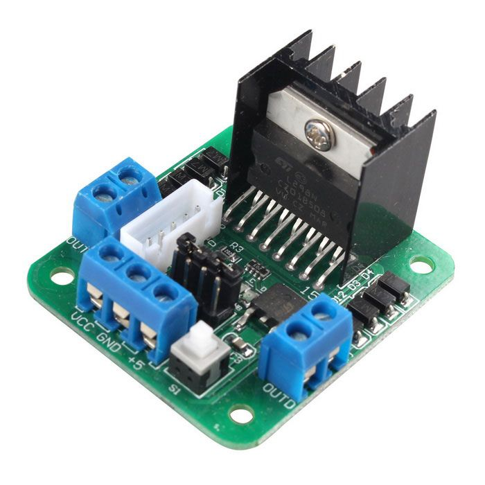 l298n dual h bridge dc stepper motor drive controller. Black Bedroom Furniture Sets. Home Design Ideas