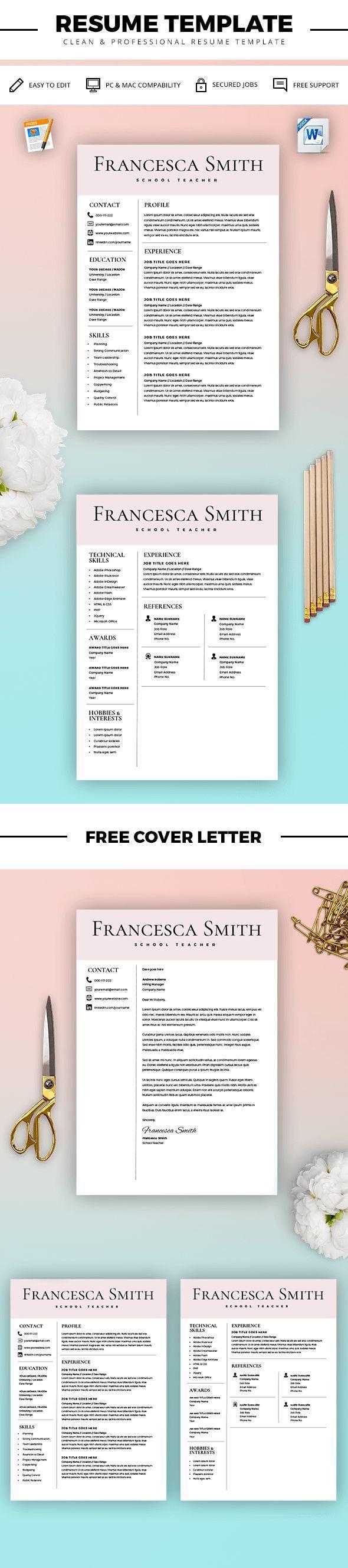 Istant Teacher Resume | Teacher Resume Template Resume For Teacher Cover Letter For
