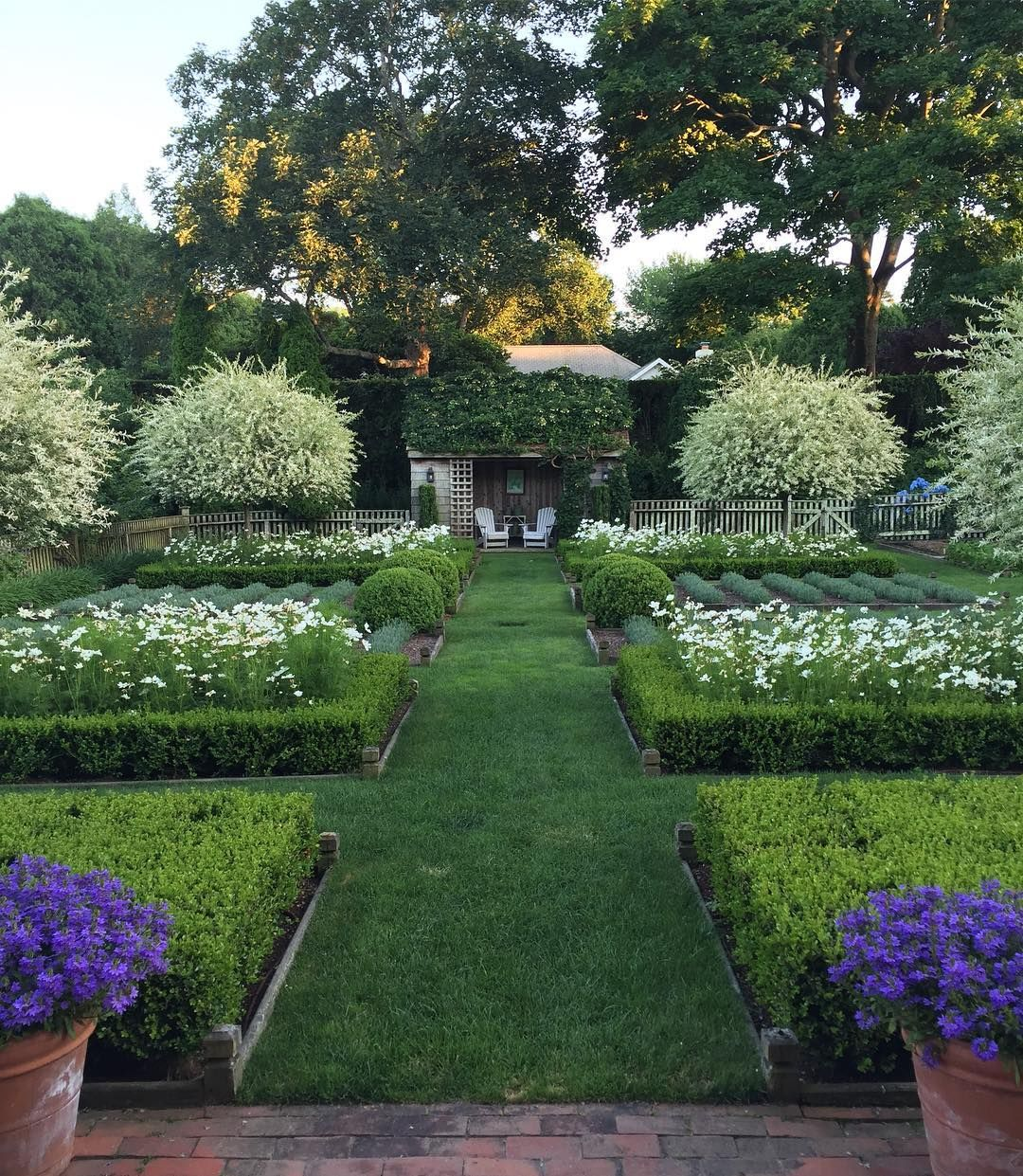 "Ina Garten\'s garden on Instagram: ""My favorite time of the day ..."
