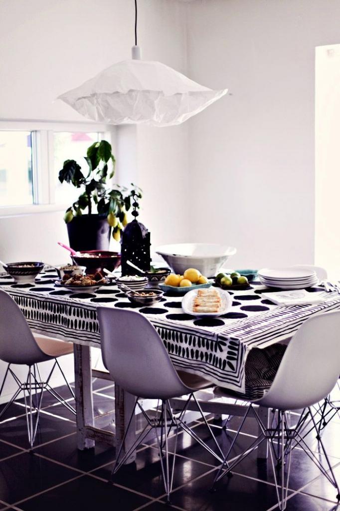 Bright White Dining