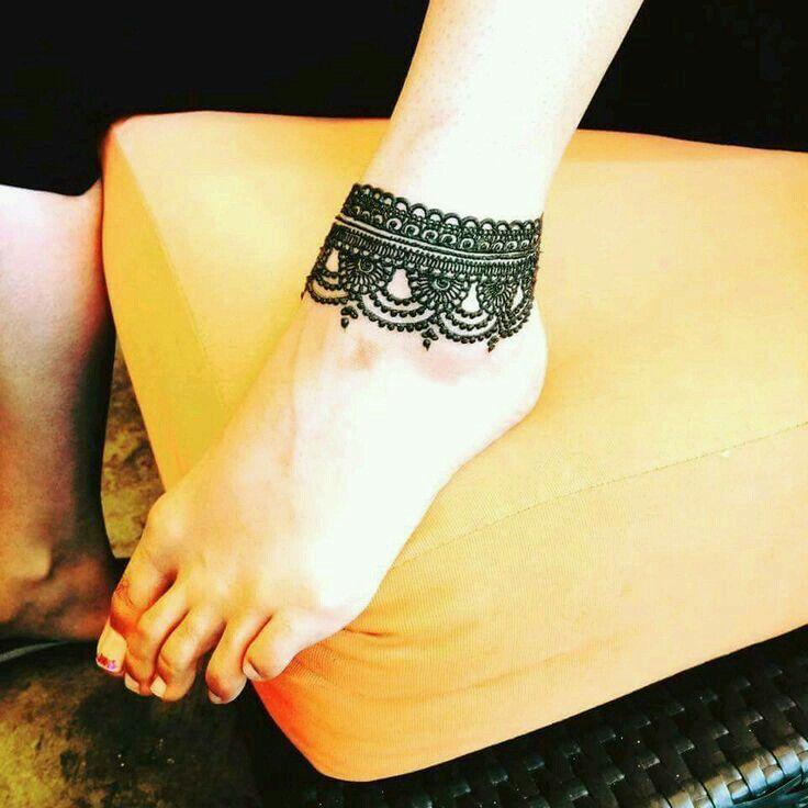 Beautiful Chain Mahandi Design Desain Tato Henna Desain Henna Sederhana Desain Tato