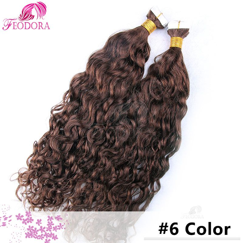 Tape In Hair Extensions 20 40 Pieces Skin Weft Tape In Human Hair