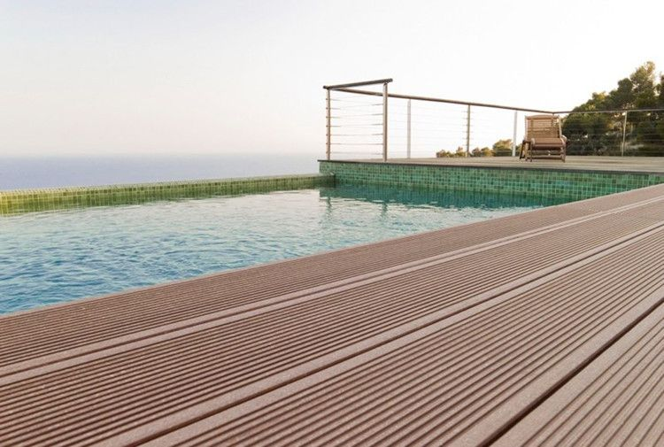 Flooring options for balconies discount wpc floor for for Wpc decking