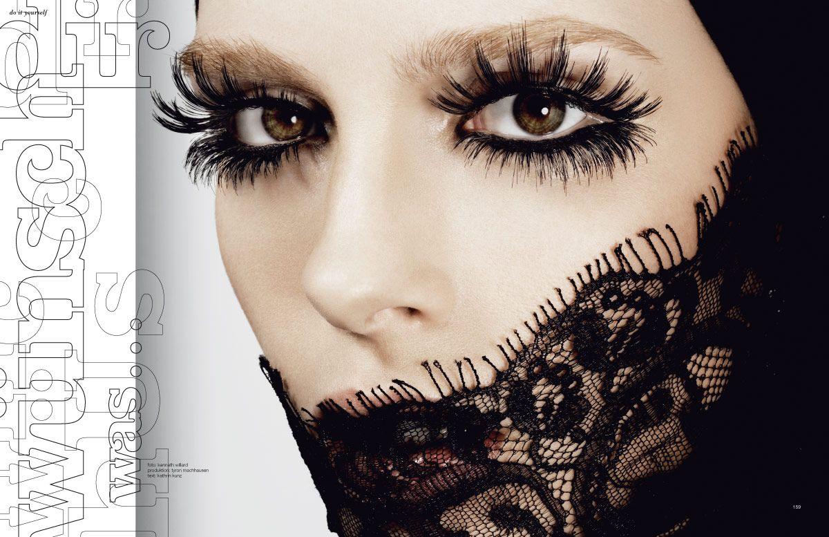 Spider Lashes Eyeshadow Lipstick Ideias De Maquiagem Cilios Grandes Maquiagem Preta