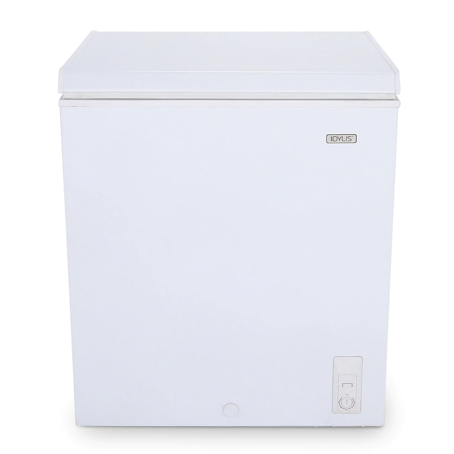 Hotpoint 5.1cu ft Manual Defrost Chest Freezer White) at