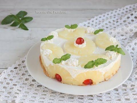 Torta Fredda Allananas Una Golosa Cheesecake O Torta Gelato All
