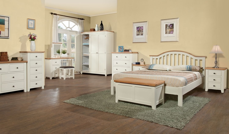 White Painted Oak Bedroom Furniture