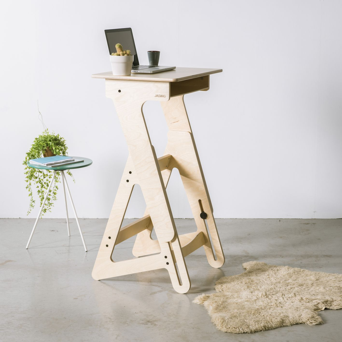 Beautifully designed standing desk that is locally produced with