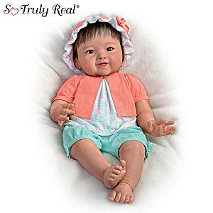 "Ping Lau ""Sweet Jun"" Weighted Asian-American Baby Doll"