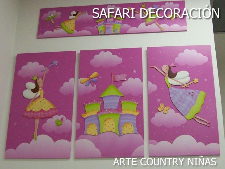 Resultado de imagen para princesas pintadas country for Habitaciones pintadas