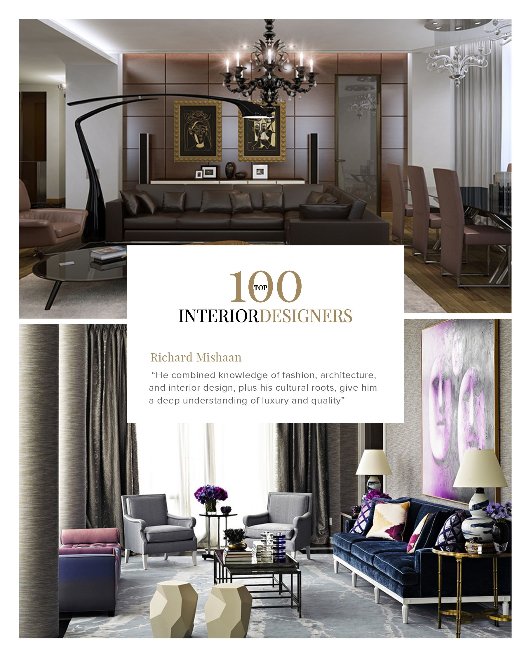 100 Best Interior Designers by Boca do Lobo and Coveted Magazine ...