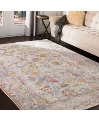 Surya Liverpool Lvp 2300 Charcoal 2 7 Area Rugs Traditional Area Rugs Grey Area Rug