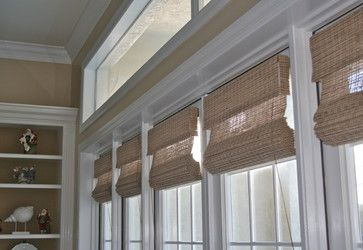 Woven Wood Shades Stack When Raised For My Windows