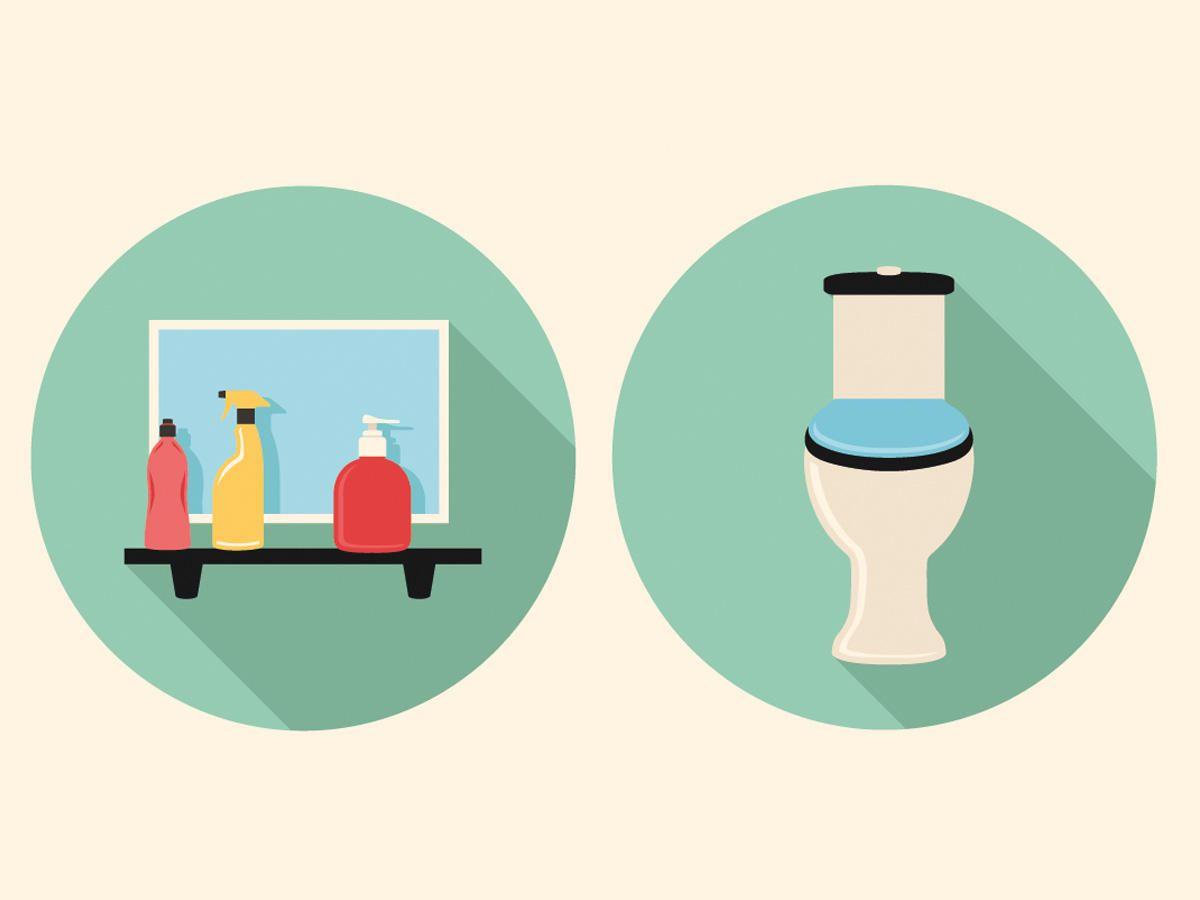 Badezimmer Putzen bad putzen blitzblank in 15 minuten