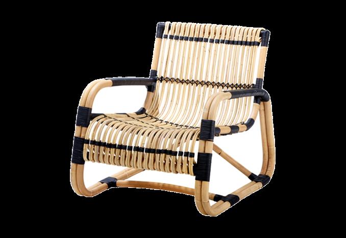 Chaise et chaise longue Curve Rotin Pinterest