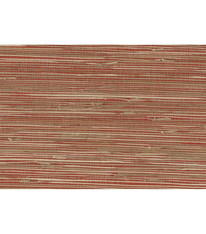 Yan Yan Red Grasscloth Wallpaper Grasscloth wallpaper