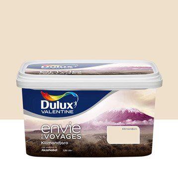 Peinture beige kilimandjaro clair DULUX VALENTINE Envie de voyage 2.5 l