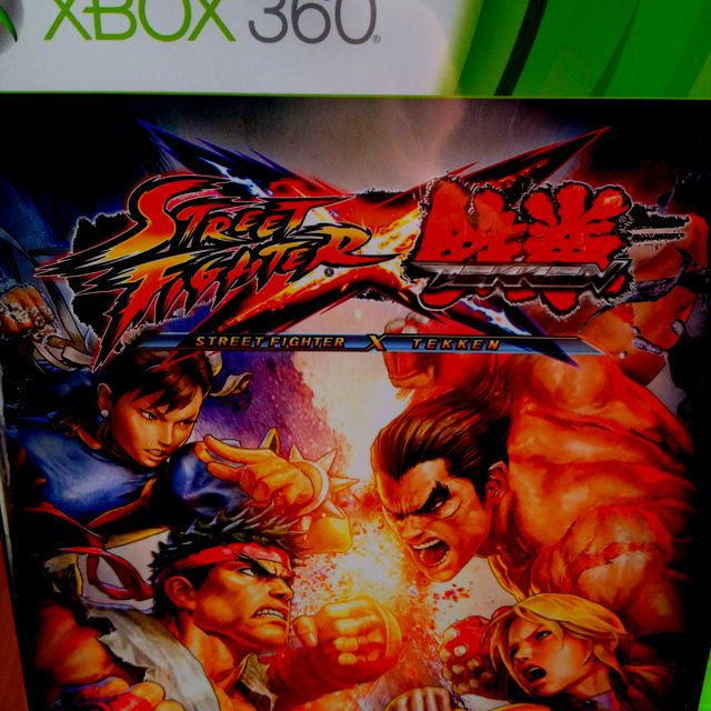 Street Fighter X Tekken... the crossover fighter that eats other crossover fighter...