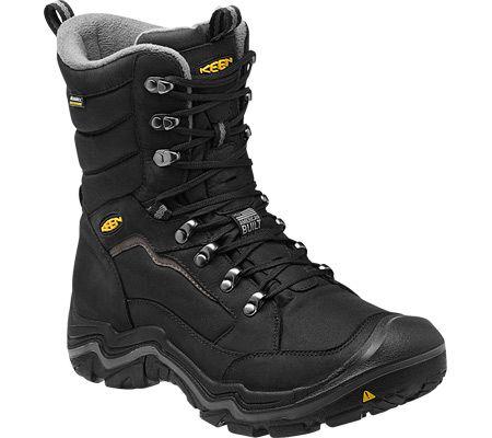 7ae1a441dc30 Keen Durand Polar Boots Men s Black Gargoyle