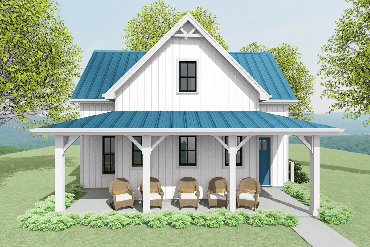 Plan 430801sng Exclusive Adu House Plan With 2 Bedrooms In 2020 House Plans Guest House Plans Architectural Design House Plans