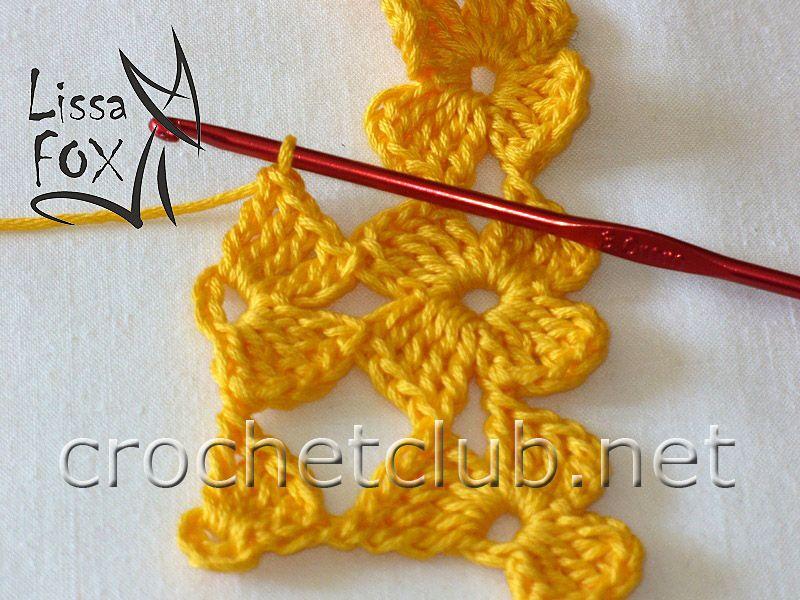 мастер класс по безотрывному вязанию вязание крючком блог настика