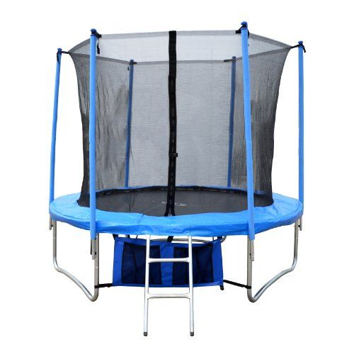 FoxHunter 8FT Trampoline Set Includes Safety Net Enclosure worth £49.99 All Weather Cover worth £19.99 TUV GS EN-71 CE Certified RRP £299.99 Total Saving £180 Off the Package No Ladder - http://bit.ly/1kthy6f