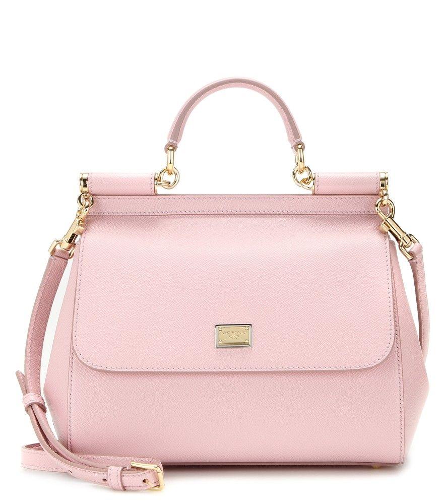 Dolce & Gabbana - Miss Sicily Medium leather shoulder bag - Dolce ...