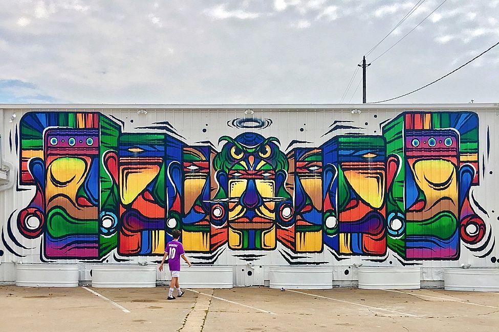 Guardian Wall mural 2201 Preston St Houston TX 77003 Wall 36