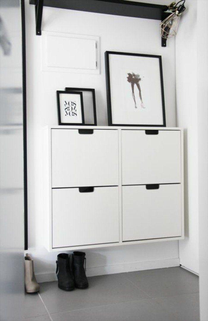 Comment Sauver D Espace Avec Les Meubles Gain De Place Deco Entree Maison Vestibules Mobilier De Salon