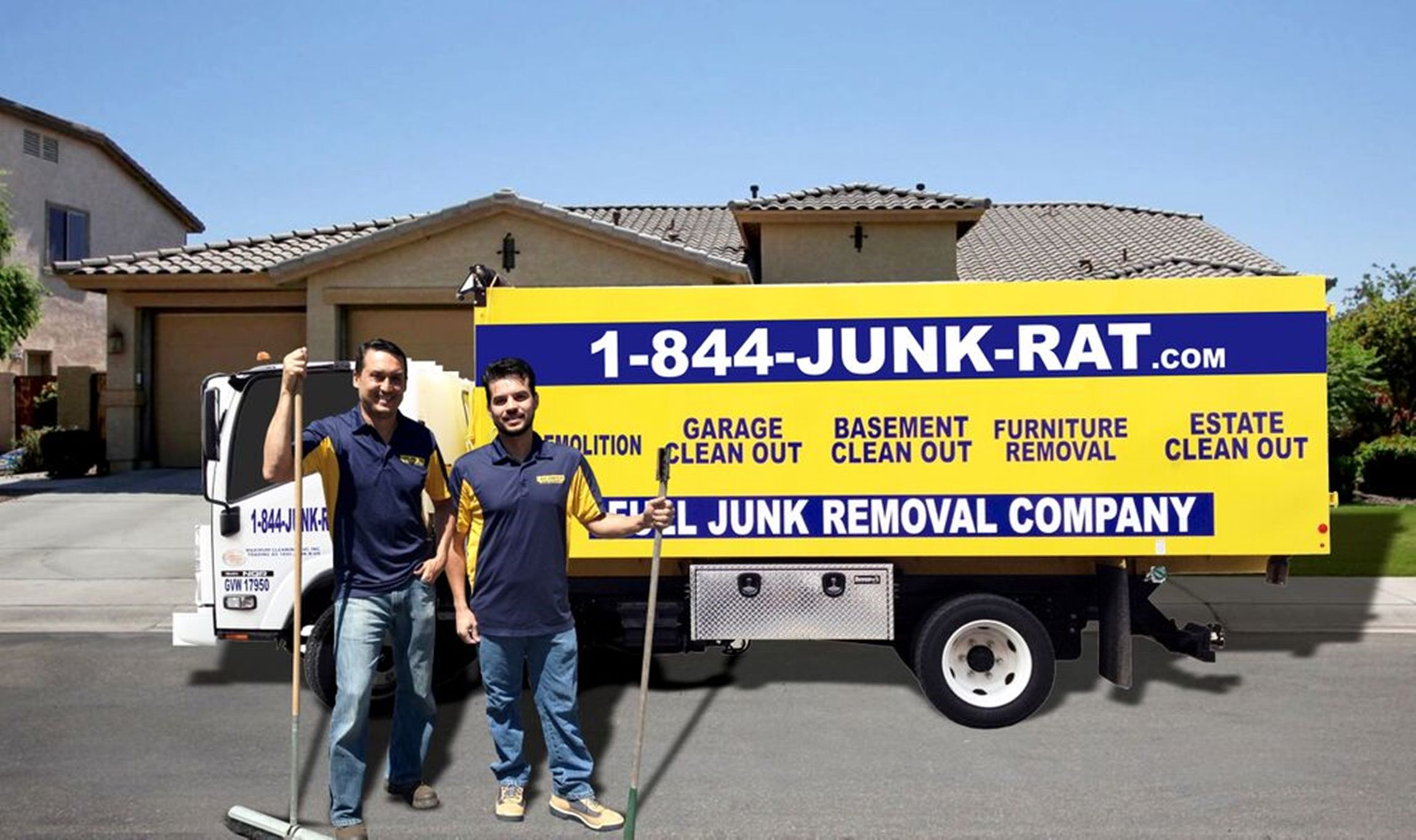 "Our name says it all 1844-JUNK-RAT …""We are the junk people"". We are ..."