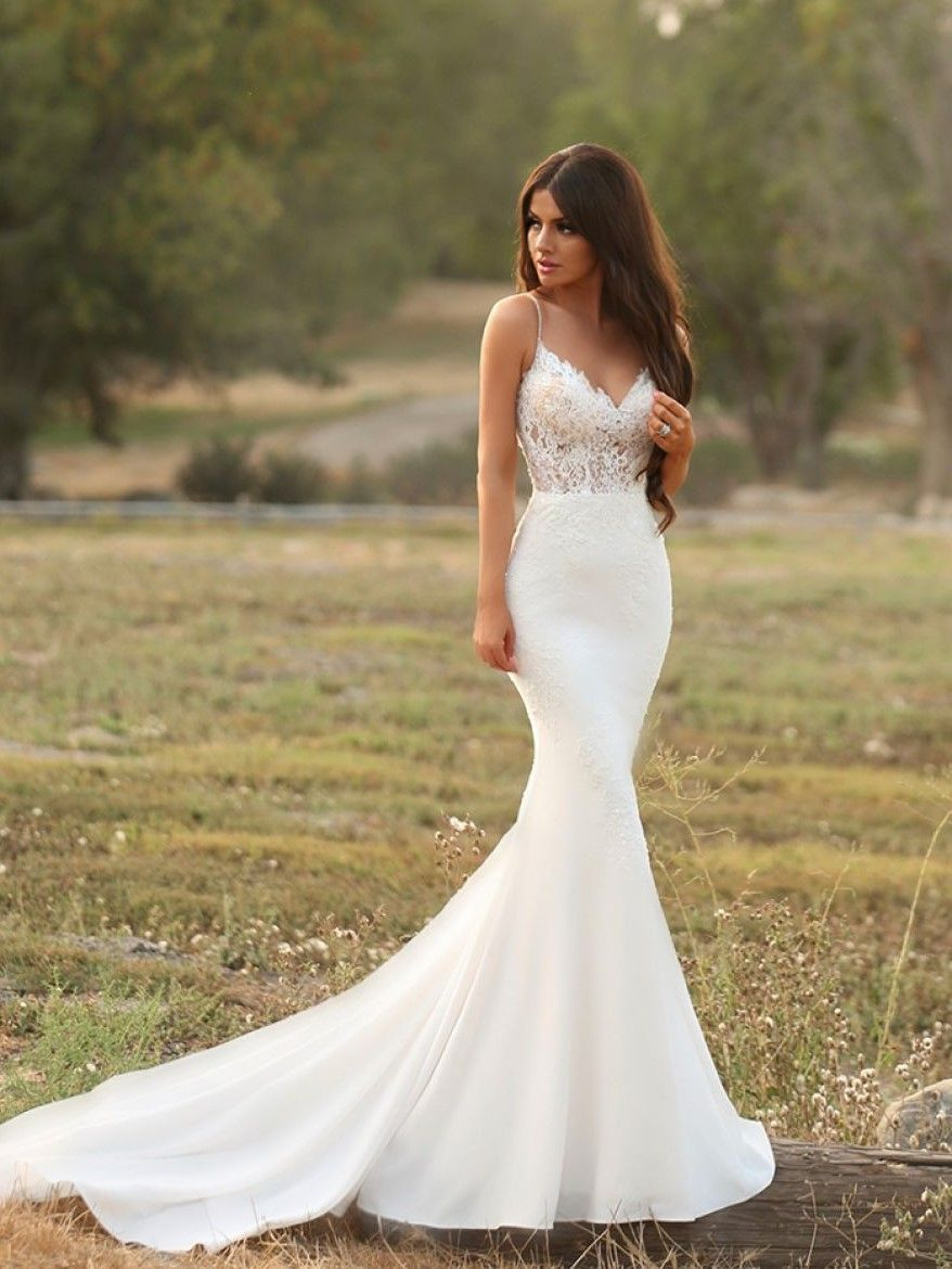 Fitted Dresses for Weddings