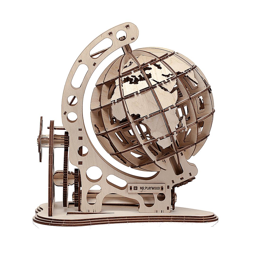 Mr.Playwood Mechanical Unicorn Plywoodkits lasercut