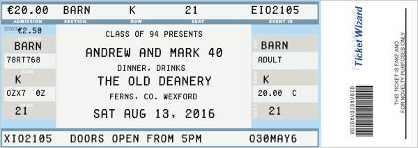 Fake Ticket Generator Ticket Generator Fake Ticket