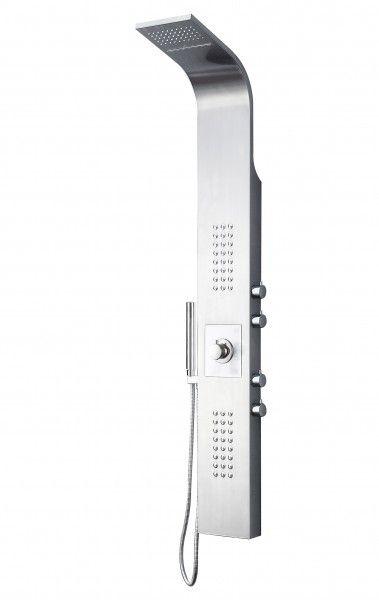 Duschpaneel Edelstahl Duschsystem mit SEDALThermostat
