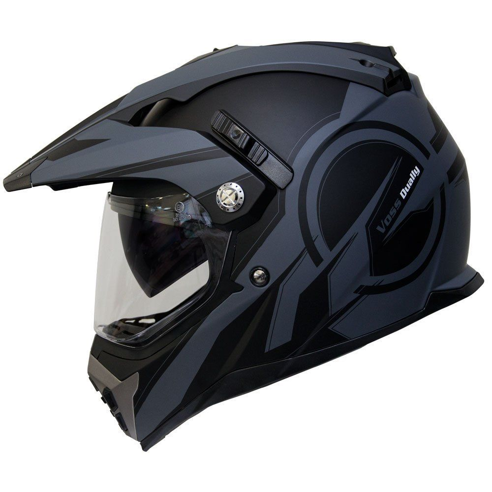 Voss 600 Dually Dual Sport Helmet with
