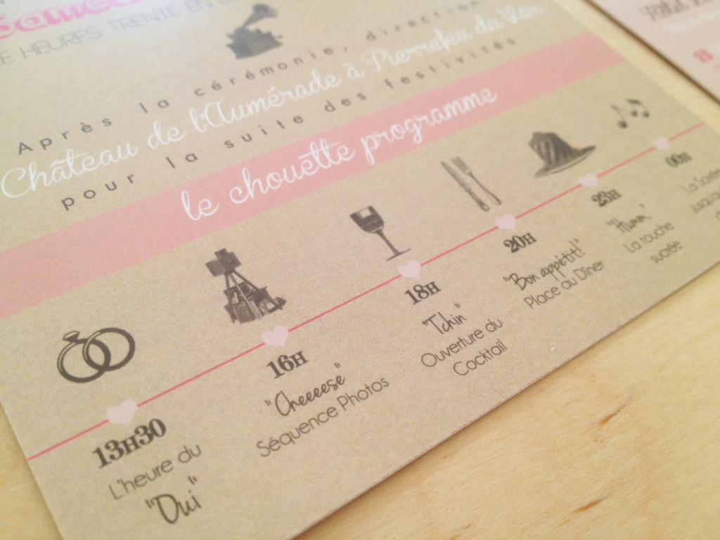 Faire part Mariage personnalisés La Chuchoteuse