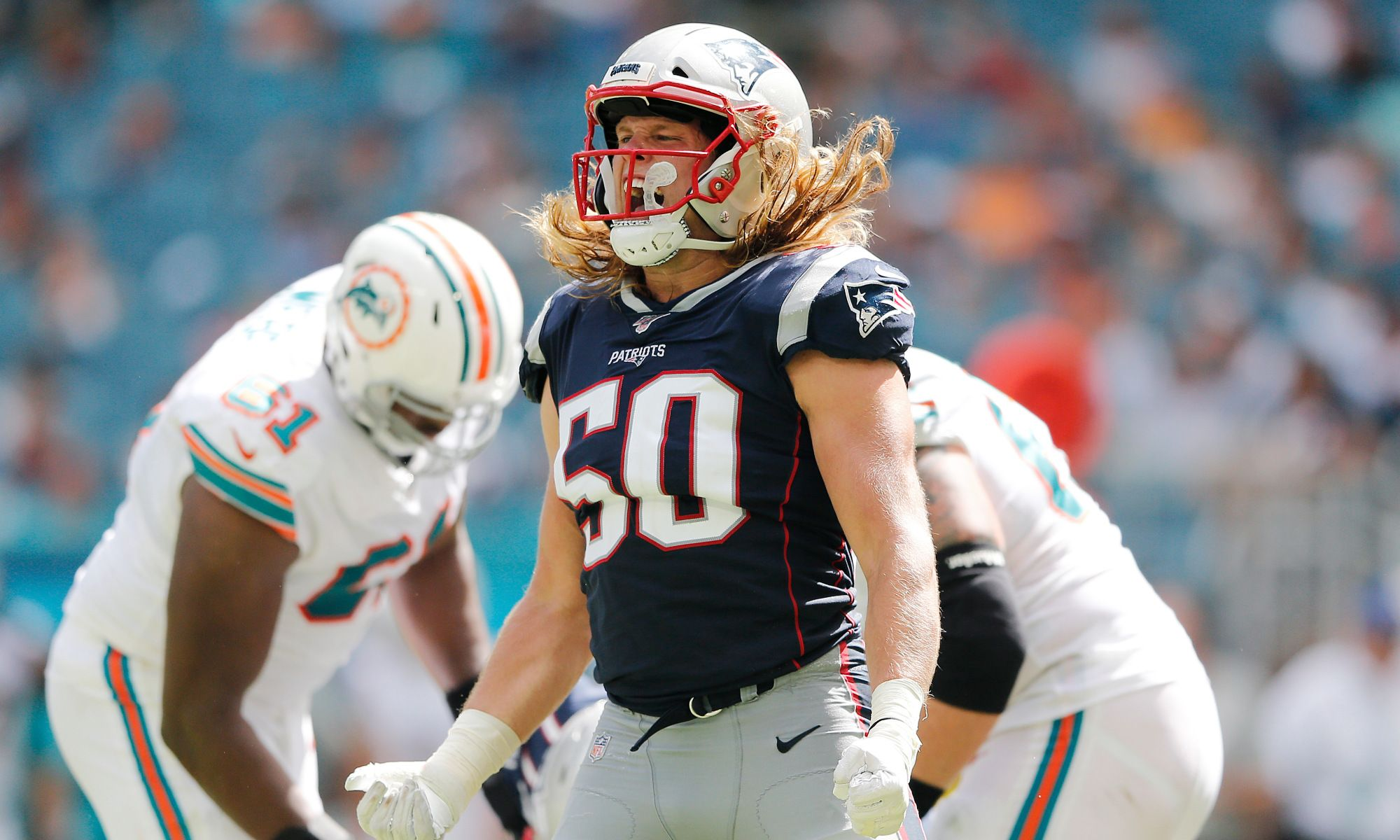 How A Butterfly Sparked Chase Winovich S First Career Sack New England Patriots Nfl News National Football League