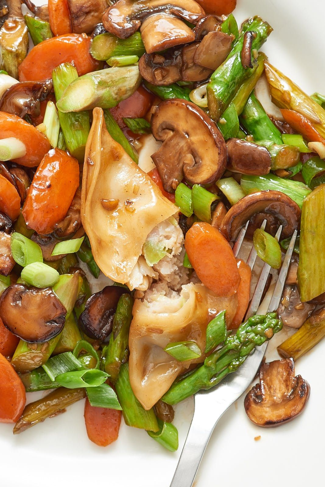 Potsticker StirFry Recipe Stir fry, Food recipes