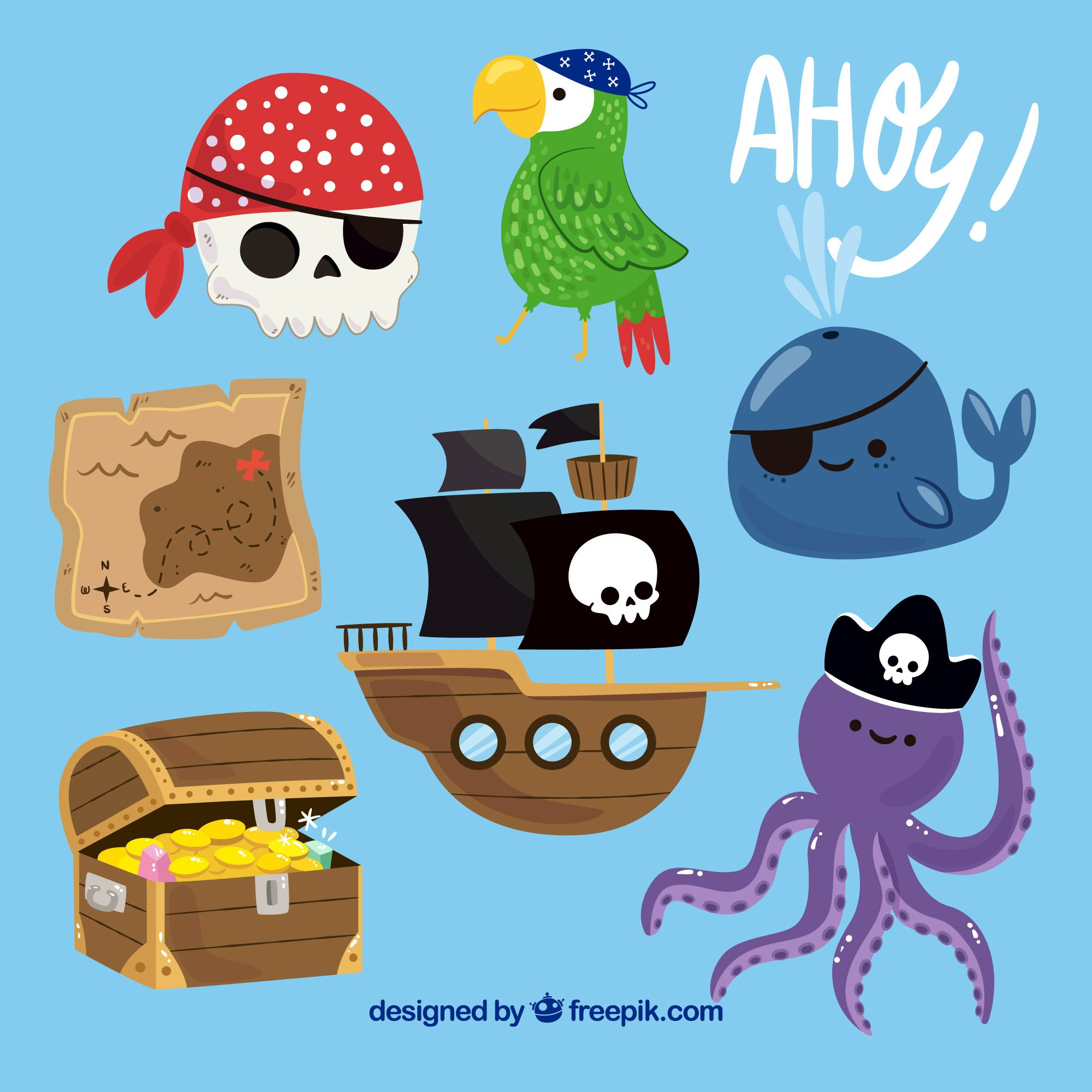 kids vector vector free photos hd clipart boy pirate birthday baby [ 2000 x 2000 Pixel ]